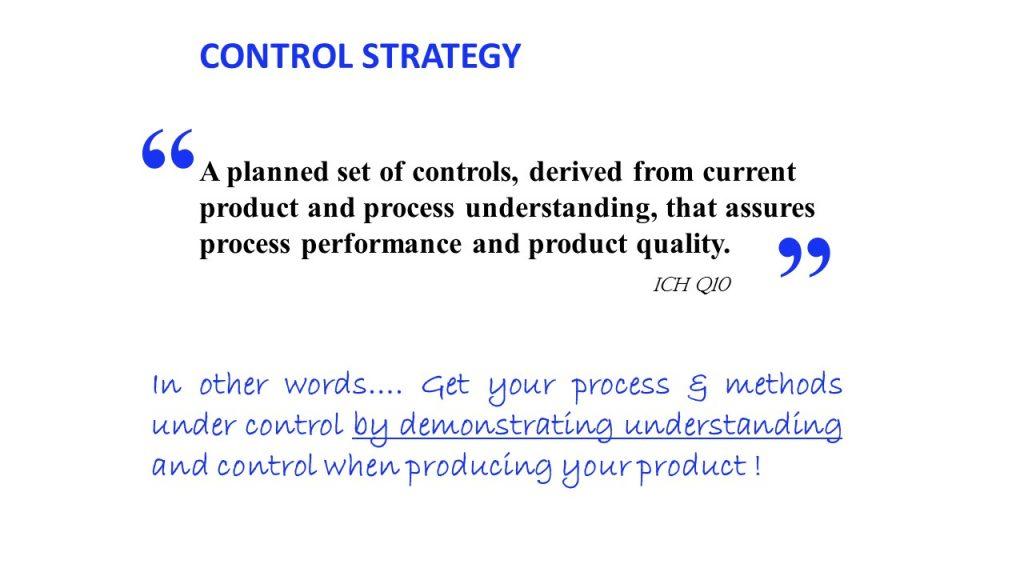 process control strategy slide